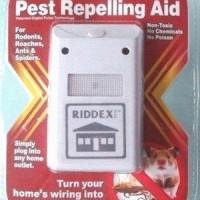 Jual Riddex Plus Pest Control As Seen On TV pengusir tikus kecoa nyamuk palstik mika segel pabrik seal qc passed tidak berisik led Murah