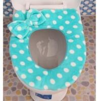 Toilet Auto Seat Cover Alas Tempat Duduk WC Jamban kamar mandi