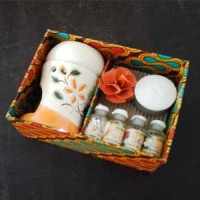 Jual Paket Aromatherapy Burner Lengkung Murah