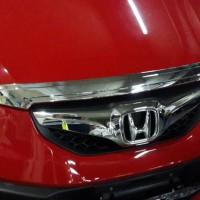Hood Moulding Crome Variasi / Aksesoris Honda Brio