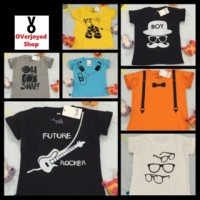 Kaos/T-shirt Baby 4 th-6 th Custom Motif Design Sendiri by Melle Kids