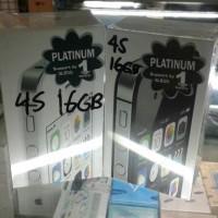 iphone 4s 16GB, warna hitam dan putih