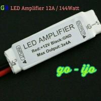 RGB LED Amplifier 144W / Penguat Sinyal Led Strip RGB