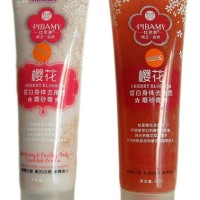 PIBAMY miracle body scrub with cherry blossom extracts
