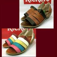 Sepatu Sendal Kickers Slop Wedges Women Wanita Santai