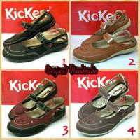 Sepatu Sendal Flat Shoes Kickers Kerja Wanita Women Santai