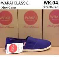 harga Wakai Clssic Navy / Sepatu Wakai Tokopedia.com