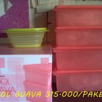 Tupperware cool guava + free