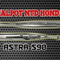 harga Knalpot Astra S90 Ntd Honda Tokopedia.com