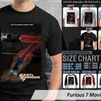 Kaos Fast N Furious 7 Movie 9 BV