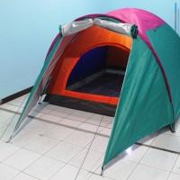 harga Tenda Dome Sheng Yuan SY-12 Double Layer Kapasitas 3-4 Orang Tokopedia.com