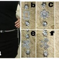 Belt rantai 50.000 Original import with diamond bl