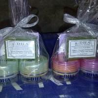 TERBAIK Cream Adha Pink/Hijau Penghilang Jerawat/Komedo/Pemutih Wajah