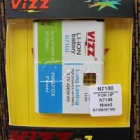 Baterai VIZZ Dobel Power Samsung Note 2