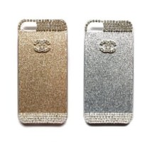 Casing HP Chanel Starlight Gold SilverIphone 4/4s Iphone 5/5s Iphone 6
