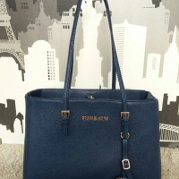 Michael Kors MK Jetset East West Navy