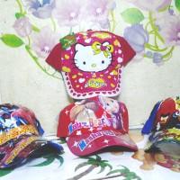 Topi Anak / ABG KITTY - SPIDERMAN - MASYA BEAR U/ USIA 3 - 8 Tahun