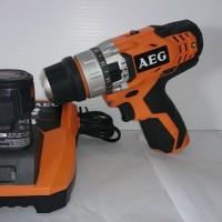 Cordless Impact Drill 10mm 12V AEG BSB 12C2CLi