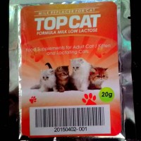 Susu Kucing Rendah Laktosa TOP CAT 20g