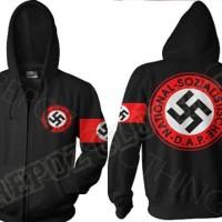 harga JAKET HOODIE JUMPER ZIPPER NAZI NSDAP TERBARU TERKEREN TERMURAH Tokopedia.com
