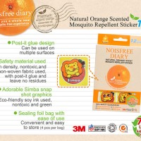 Simba S9712 Noisfree Diary-Natural Orange Scent Mo