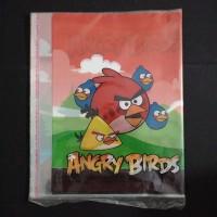 Sampul Buku Plastik Kuarto Angry Birds