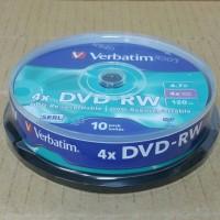 DVD-RW 4X VERBATIM CB 10