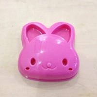Cetakan Pencetak Roti Isi Sandwich Bento Karakter Rabbit Kelinci 003