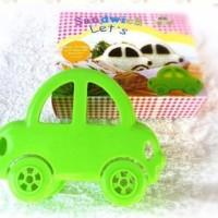 Cetakan Pencetak Roti Isi Sandwich Bento Lucu Imut Mobil Car 004