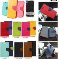 Jual Mercury Fancy Diary Dompet Kulit Flip Wallet Cover Case Oppo R5