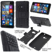 Jual Heavy Duty Armor Hard Soft Cover Casing Case Microsoft Lumia 535