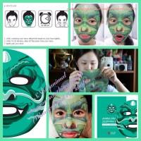 SNP animal mask dragon/masker perawatan wajah gambar naga KOREA