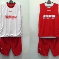 Training Jersey basket / jersey latihan Indonesia Basketball