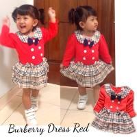 harga Burberry Dress Baby Red Terry 9month-2,5tahun Anak Bayi Tokopedia.com