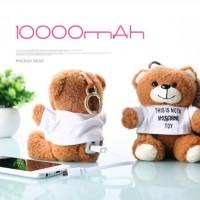 harga SOUL ERA Teddy Bear Mobile Power Charging Tokopedia.com