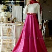 A00480 Maxi Astika + Pashmina Bahan Jersey + Brukat Furing Jersey