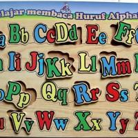 Toko Mainan Anak - Puzzle Alphabet Besar Kecil