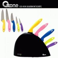 Oxone Pisau Set Rainbow OX-606/ Pisau oxone Rainbow OX-606