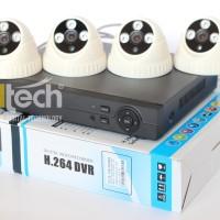 Paket Lengkap Kamera CCTV 4 Channel