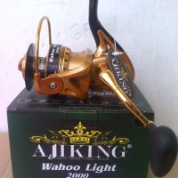 harga Reel Ajiking Wahoo Ligth 2000 Tokopedia.com