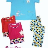 Baju Tidur Lengan Pendek Wanita bahan katun XL dan XXL