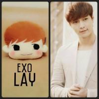 Bantal Korea EXO Lay