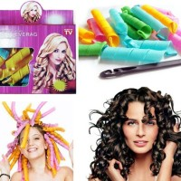 Jual Magic Leverag Hair Roller Curler Gulungan Pengikal Rambut strawberry Murah