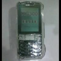 CoverCase Mika LG KG300 Full keypad Bening Mengkilap