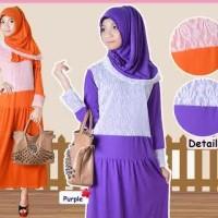 Muslimah Maxi Dress Online Murah Rasya Gamis
