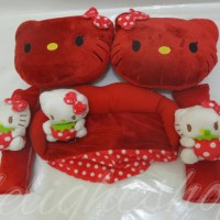 bantal mobil hello kitty 3 in 1