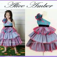 Alice Amber Dress (Blue)