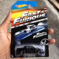 DIECAST HOTWHEELS fast and furious buick grand national promo