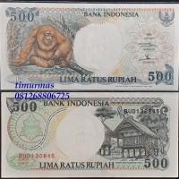 Uang Lama Kuno 500 Rupiah 1992 Orang Utan