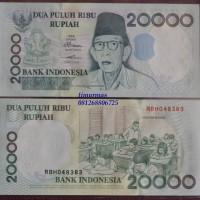 Jual Uang Lama Kuno 20.000 Rupiah 1998 Ki Hadjar Dewantara Murah